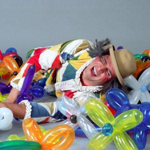 Ballonmodellieren Clown