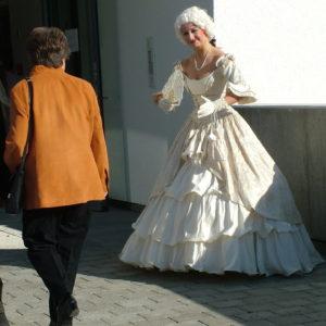 """Walkact, Lebende Statue """"Barockes Paar"""""""