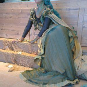 """Lebende Statue """"Meerjungfrau"""""""