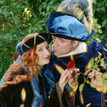Walkact Mittelalterliches Paar
