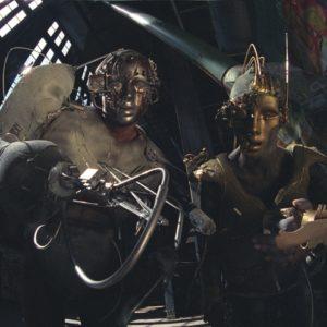 "Lebende Statue ""Roboter"""