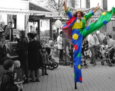 Stelzen Clown »Schalk-im-Nack«