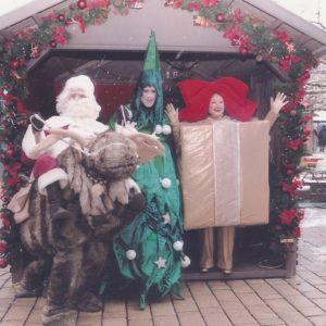 Weihnachts-Walkact im Duo oder Trio